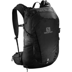 Turistický ruksak SALOMON-TRAILBLAZER 30 Black/Black