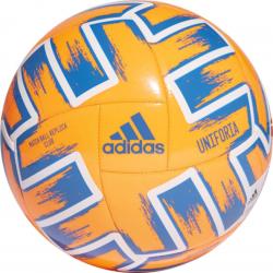 Futbalová lopta ADIDAS-UNIFO CLB SORANG/GLOBLU/WHITE