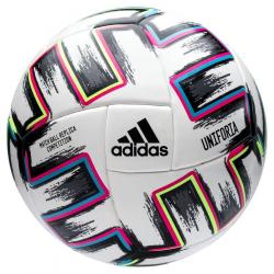Futbalová lopta ADIDAS-UNIFO COM WHITE/BLACK/SIGGNR/B