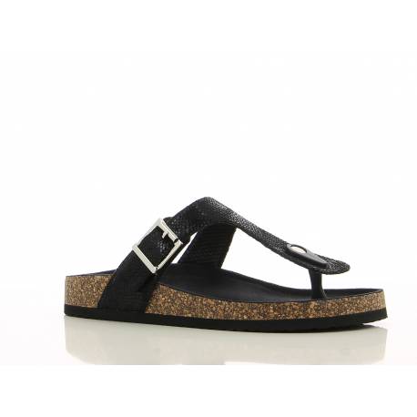 Dámske dreváky (módna obuv) V+J-Syri black