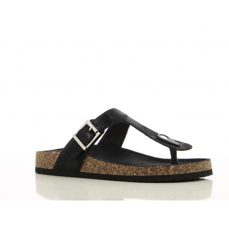 Dámské dřeváky (módní obuv) V + J-Syri black