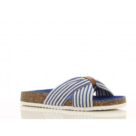 Dámske dreváky (módna obuv) V+J-Lusi blue