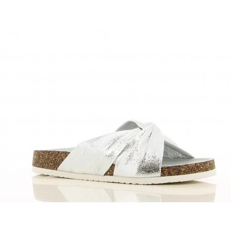 Dámské dřeváky (módní obuv) V + J-Kasala silver