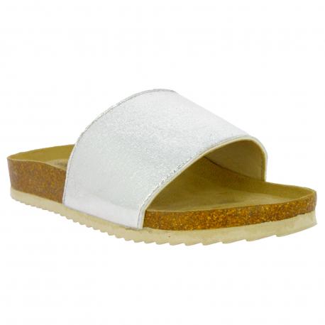 Dámské dřeváky (módní obuv) V + J-Rauma silver