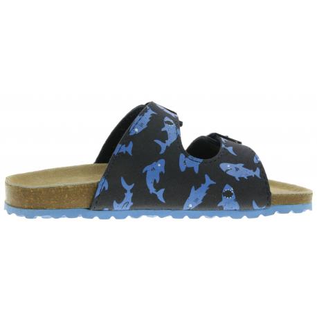 Detské dreváky (módna obuv) V+J-Lora navy