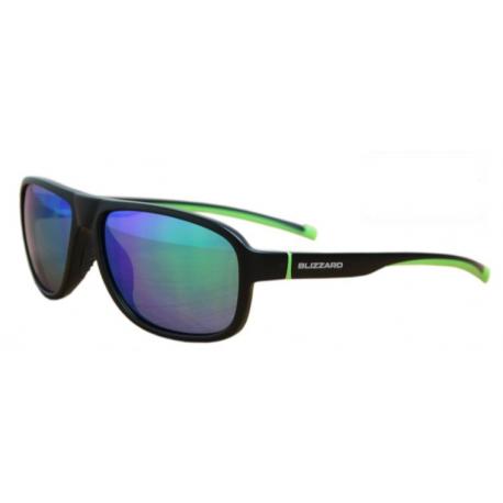 Športové okuliare BLIZZARD-Sun glasses POLSF705130, rubber black, 65-16-135