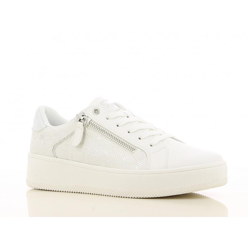 Dámska rekreačná obuv V+J-Lentia white -
