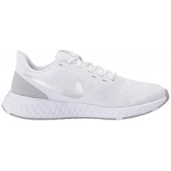 Dámská sportovní obuv (tréninková) NIKE-Rovolution 5 white / pure platinum / wolf grey