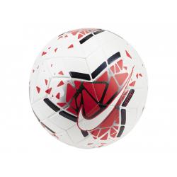 Fotbalový míč NIKE-Strike SB white / laser crimson / metallic black