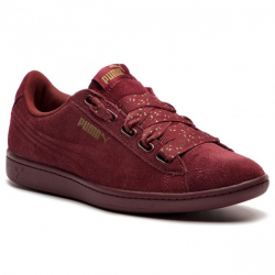 Dámska vychádzková obuv PUMA-Vikky Ribbon Dots pomegranate/pomegranate