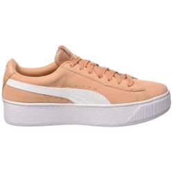 Dámská vycházková obuv PUMA-Vikky Platform dusty korálové / puma white