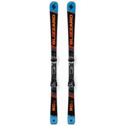Carvingové lyže BLIZZARD-RC Ca, oranžová / modrá / černá, 17/18 + vázání TP10 DEMO
