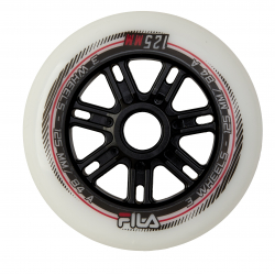 Náhradné inline kolieska FILA SKATES-WHEELS 125MM/84A WHITE