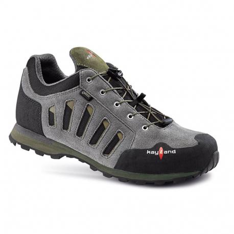 Pánska turistická obuv nízka KAYLAND-VIBE GTX DARK GREY