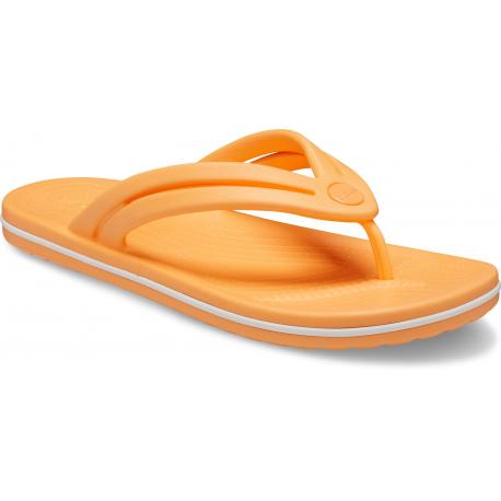 Dámska obuv k bazénu (plážová obuv) CROCS-Crocband Flip W cantaloupe