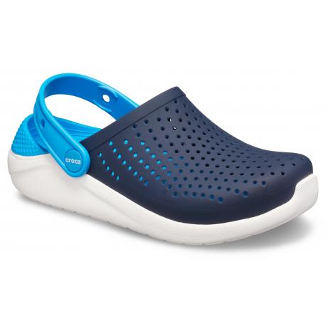 Juniorské kroksy (rekreačná obuv) CROCS-LiteRide Clog K navy/white