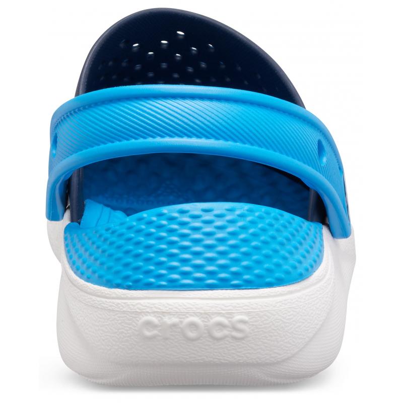 Juniorské kroksy (rekreačná obuv) CROCS-LiteRide Clog K navy/white -