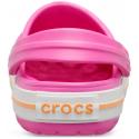 Detské kroksy (rekreačná obuv) CROCS-Crocband Clog K electric pink/cantaloupe -