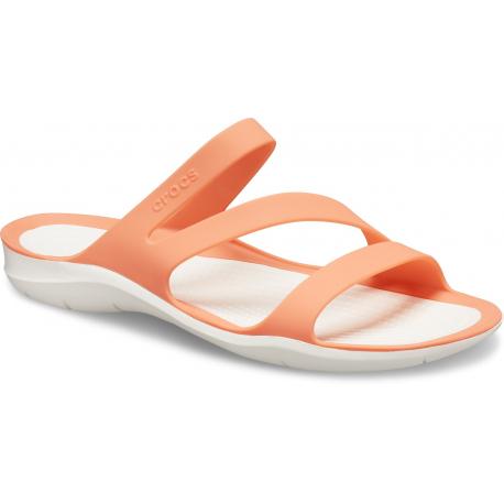 Dámska obuv k bazénu (plážová obuv) CROCS-Swiftwater Sandal W grapefruit/white