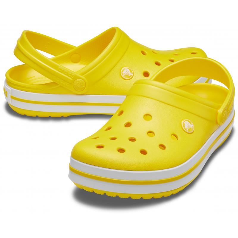 Kroksy (rekreačná obuv) CROCS-Crocband lemon -