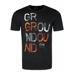 Pánske tričko s krátkym rukávom VOLCANO-T-ZERO-BLACK