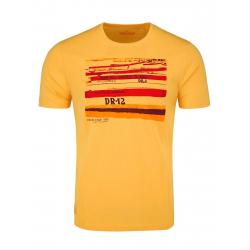 Pánske tričko s krátkym rukávom VOLCANO-T-PLAYA-YELLOW