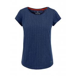 Dámske tričko s krátkym rukávom VOLCANO-T-ALMA-DENIM