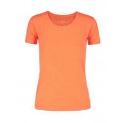 Dámske tričko s krátkym rukávom VOLCANO-T-DIANA-ORANGE MEL