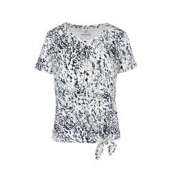 Dámske tričko s krátkym rukávom VOLCANO-T-FAUN-WHITE