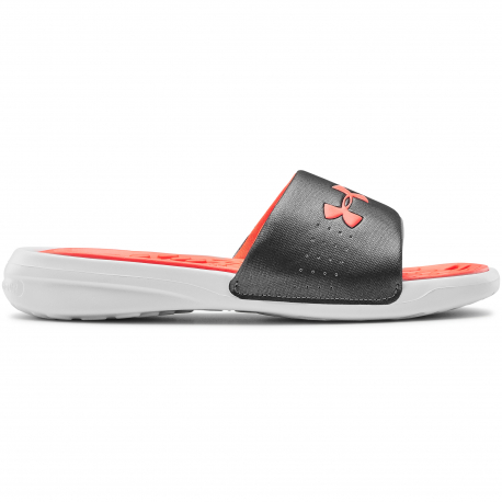 Dámska obuv k bazénu (plážová obuv) UNDER ARMOUR-UA W Playmaker Fix SL-WHT