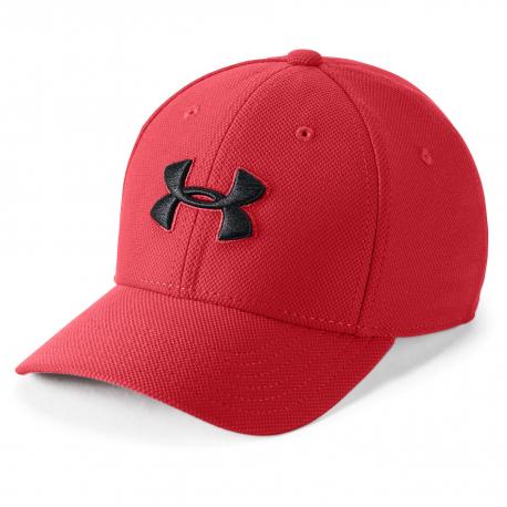 Chlapecká kšiltovka UNDER ARMOUR-UA Boys blitzing 3.0 Cap-RED