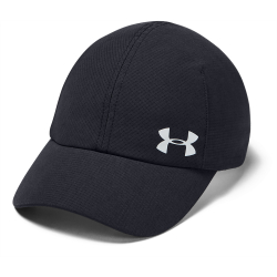 Dámská kšiltovka UNDER ARMOUR-UA Launch Run Cap-BLK