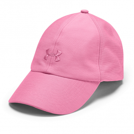Dámska šiltovka UNDER ARMOUR-UA Heathered Play Up Cap-PNK-691