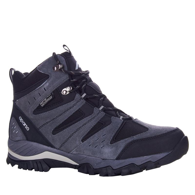 Pánska turistická obuv stredná LANCAST-Aparso Bolzano grey -