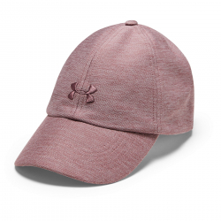 Dámská kšiltovka UNDER ARMOUR-UA Heathered Play Up Cap-PNK-662