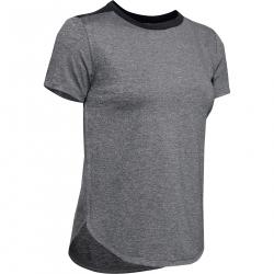 Dámske tréningové tričko s krátkym rukávom UNDER ARMOUR-UA Armour Sport Crossback SS-BLK