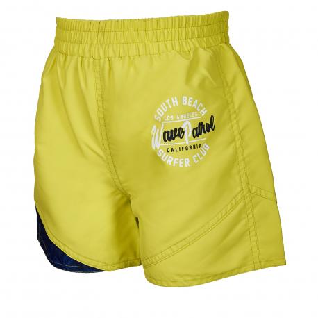 Chlapčenské plavky AUTHORITY KIDS-PRAMNY B_DS neon green