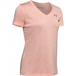Dámske tréningové tričko s krátkym rukávom UNDER ARMOUR-Tech SSV - Twist-ORG-848