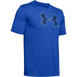 Pánske tréningové tričko s krátkym rukávom UNDER ARMOUR-UA BIG LOGO SS-BLU