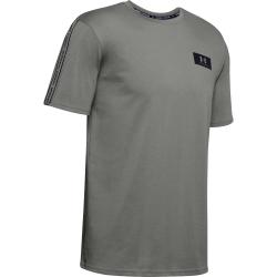 Pánské tréninkové triko s krátkým rukávem UNDER ARMOUR-UA ORIGINATORS SHOULDER SS-GRN