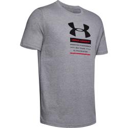 Pánske tréningové tričko s krátkym rukávom UNDER ARMOUR-UA ORIGINATORS CENTER SS-GRY