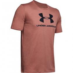 Pánske tréningové tričko s krátkym rukávom UNDER ARMOUR-SPORTSTYLE LOGO SS-BRN