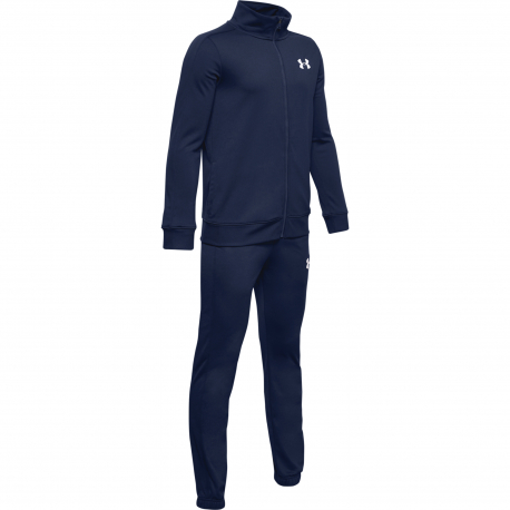 Chlapecký tréninková souprava UNDER ARMOUR-UA Knit Track Suit-NVY