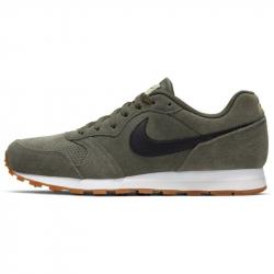 Pánska vychádzková obuv NIKE-MD Runner 2 Suede green