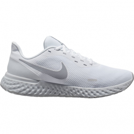 Pánska športová obuv (tréningová) NIKE-Revolution 5 white