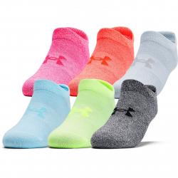 Dámske ponožky UNDER ARMOUR-UA Womens Essential NS-PNK 6pck