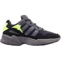 Pánská rekreační obuv ADIDAS ORIGINALS-Yung-96 carbon / grey four / solar yellow