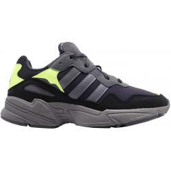 Pánská rekreační obuv ADIDAS ORIGINALS-Yung-96 carbon / grey four / solar yellow (EX)