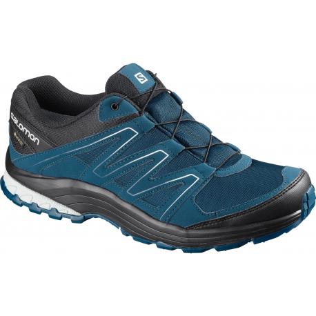 Pánska turistická obuv nízka SALOMON-Solia GTX poseidon/bk/pearl blue