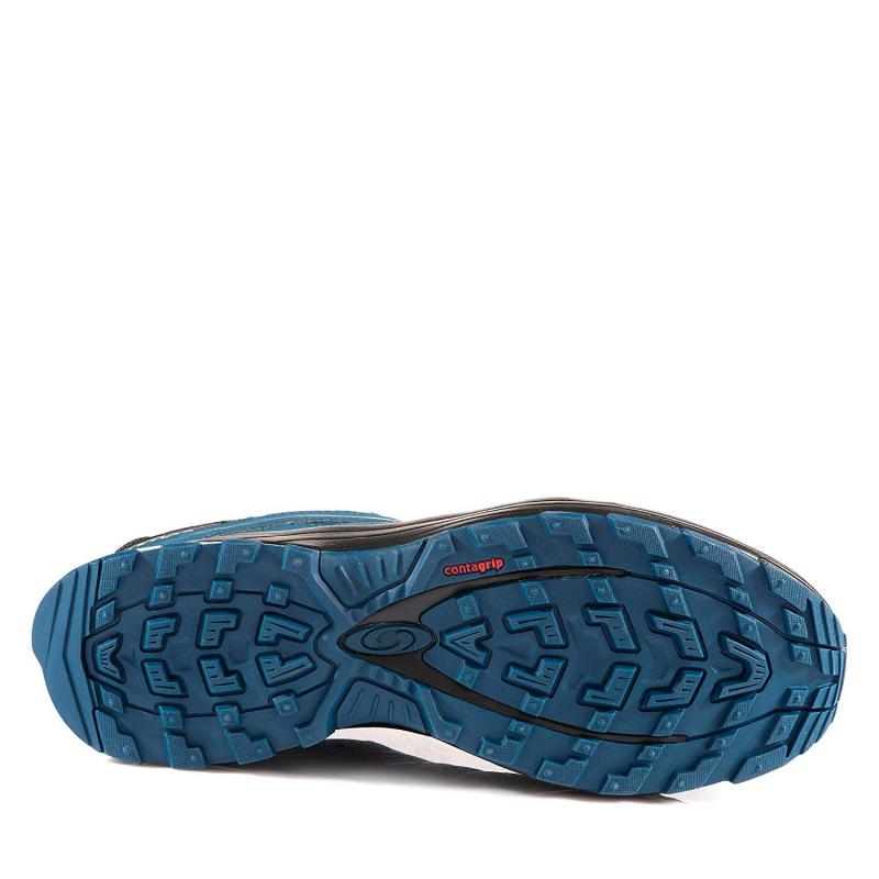 Pánska turistická obuv nízka SALOMON-Solia GTX poseidon/bk/pearl blue -